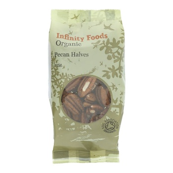 Infinity Organic Pecan Halves 125g