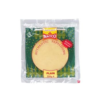 Natco Urid Plain Pappad 200g