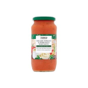 Tesco Pasta Bake Creamy Tomato & Herb 500g