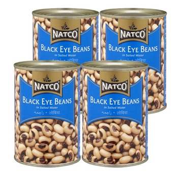 Natco Black Eye Beans 4X400g