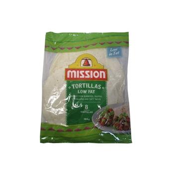 Mission Low Fat Tortillas 384g