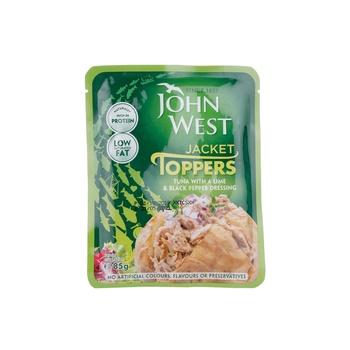 John West Tuna Piecs Lime & Pepper Dressing 85g