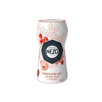 Nezo Iodized Pure Salt Red Bottle 600g