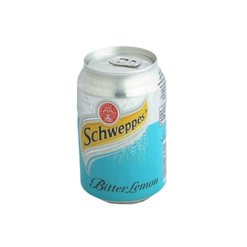 Schweppes Bitter Lemon Can 300ml