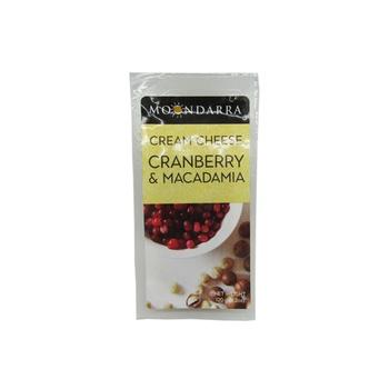 Moondarra Cream Cheese - Cranberry & Macadamia 120g