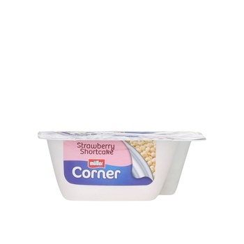 Muller Fruit Corner Strawberry Short Cake 135g