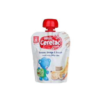 Cerelac Puree Bnana Orange 90G
