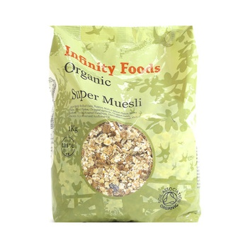 Infinity Organic Foods Super Muesli 1kg
