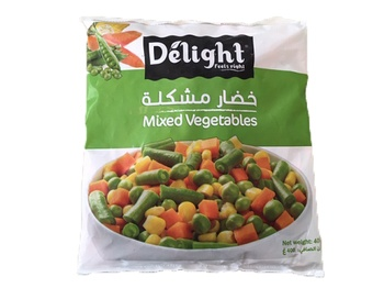 Delight Mixed Vegetables 400g