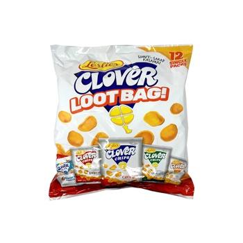 Leslies Clover Lootbag Asstd Snck 280g