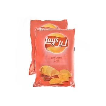 Lays Poly Bag 2X21X14g