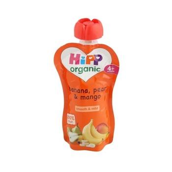 Hipp Organic Baby Food Apple Pear & Banana 100g