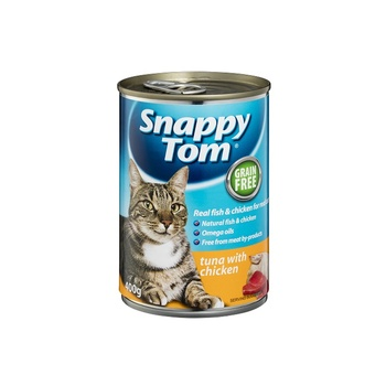 Sanppy Tom Tuna & Knky Sardines, Prawn 400 g