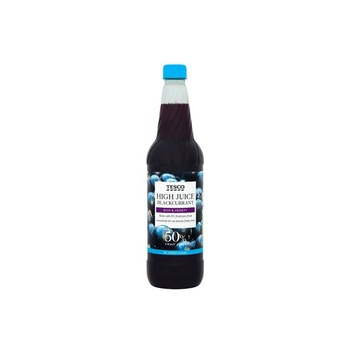 Tesco High Juice Black Currant Squash No Added Sugar 1ltr