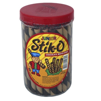 Ecco Junior Stik O Chocolate Wafer Stick 380g