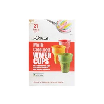 Altimate Multi Colored Wafer Cups 75g