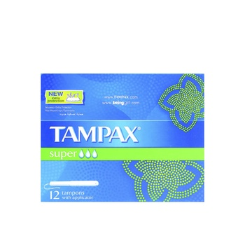 Tampax Tampons With Applicator Super 12pcs