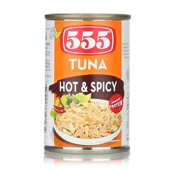 555 Tuna Flakes Hot&Spicy 155g