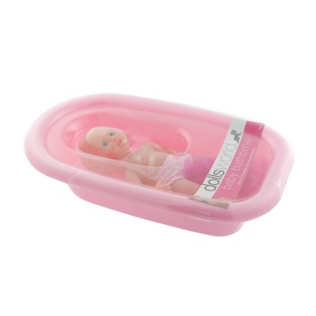 Dolls World Bath Time Baby Doll 25cm