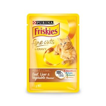 Purina Friskies Fine Cuts In Jelly Chicken & Turkey 85g