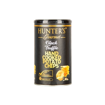 Hunter Hand Made Cooked Chips Black Truffle 150g