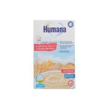 Humana Milk 5-Cereals With Biscuit