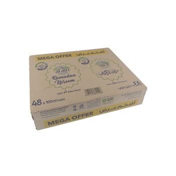 Al Ain Water Carton Cup 48 x 100 ml