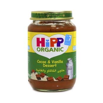 Hipp Organic Baby Food Cocoa & Vanilla Dessert 190g