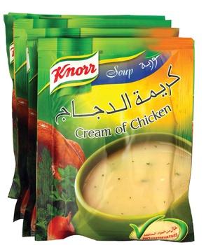Knorr Soup Cream Of Chicken 5 x 54g