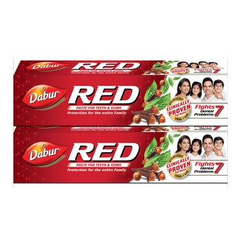 Dabur Red Toothpaste 2x200g