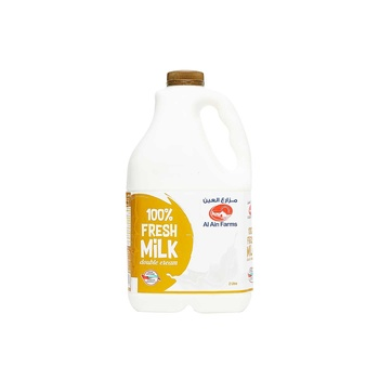 Al Ain Milk - Double Cream 2Ltr