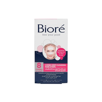 Biore Deep Cleansing Charcoal Pore Strips 8 Strips