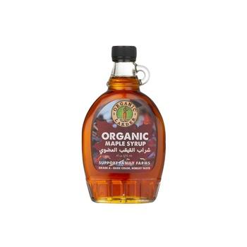 Organic Larder Organic Maple Syrup Dark 375ml