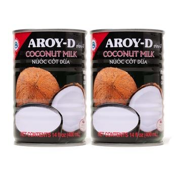 Aroy-D Coconut Milk 2x400ml
