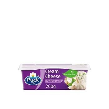 Puck Tubs Garlic And Hearbs 200g