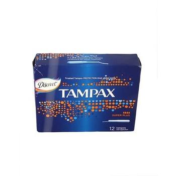 Tampax Tampons Super Plus 12s