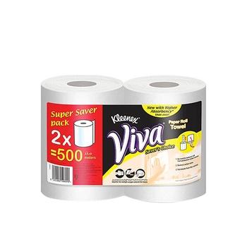 Kleenex Viva Paper Towel Pack Of 2 Rolls (2 X 250Mts)