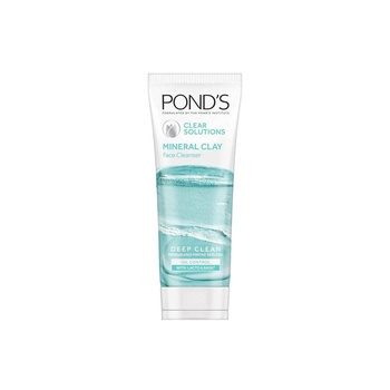 Ponds Face Wash Clear Solution Clay Foam 90g pack of 2