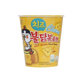 Samyang Cup N Hot Chicken Cheese Flavour 70g