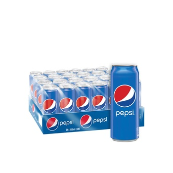 Pepsi, Carbonated Soft Drink, Cans 355 ml x 24