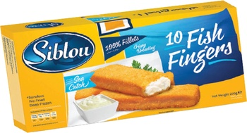 Siblou 10 Fish Fingers 250g