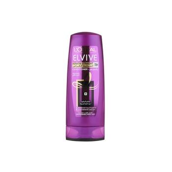 Loreal Elvive Keratin Straight Sleek Conditioner 400 ml