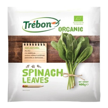 Trebon Organic Spinach Leaves 400g