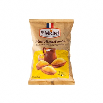 St Michel French  Mini Madeleine Cake 250g