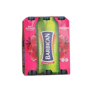 Barbican Non Alcoholic Malt Beverage Raspberry Flavor 6x330ml