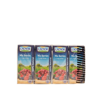 Lacnor Essentials Mixed Berries 180ml