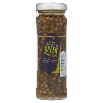 Tesco Green Peppercorns 115g
