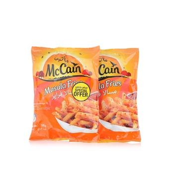Mccain Masala Fries375g Pack of 2