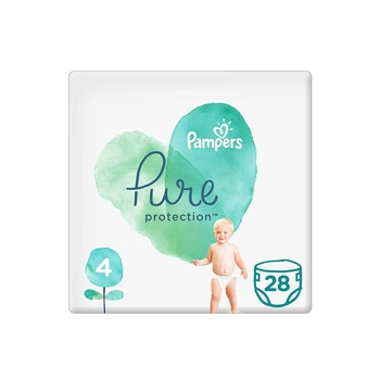Pampers Pure Protection Size 4 28s