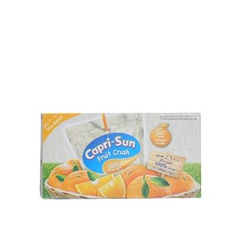 Capri  Sun Fruit Crush Orange Drink  10x200ml